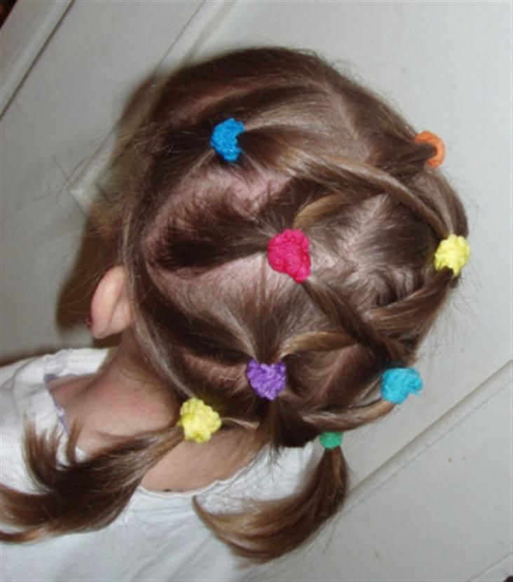 Причёска на короткие своими руками в домашних условиях