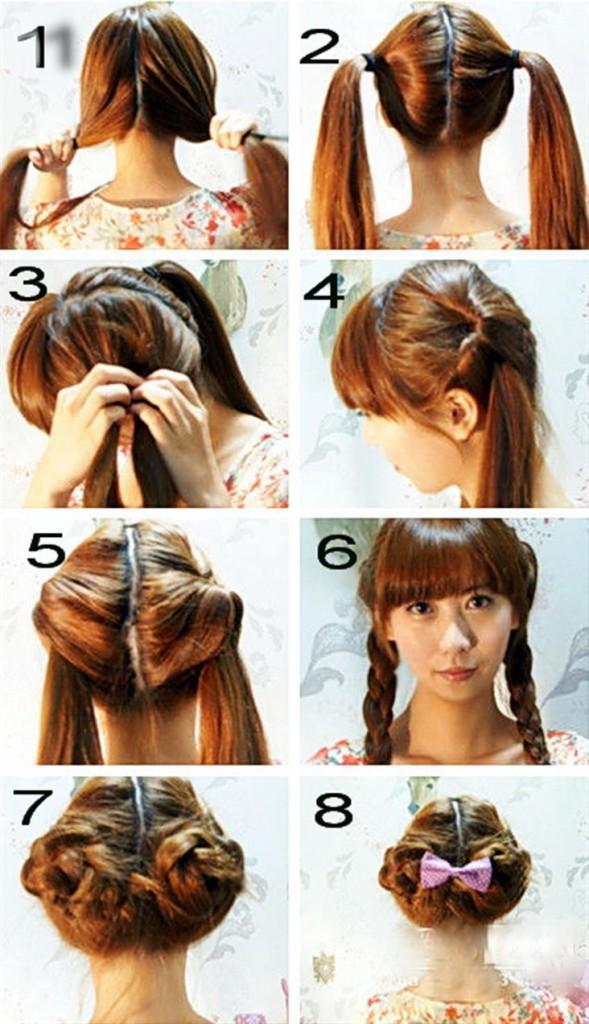 удобные и красивые прически на длинные волосы