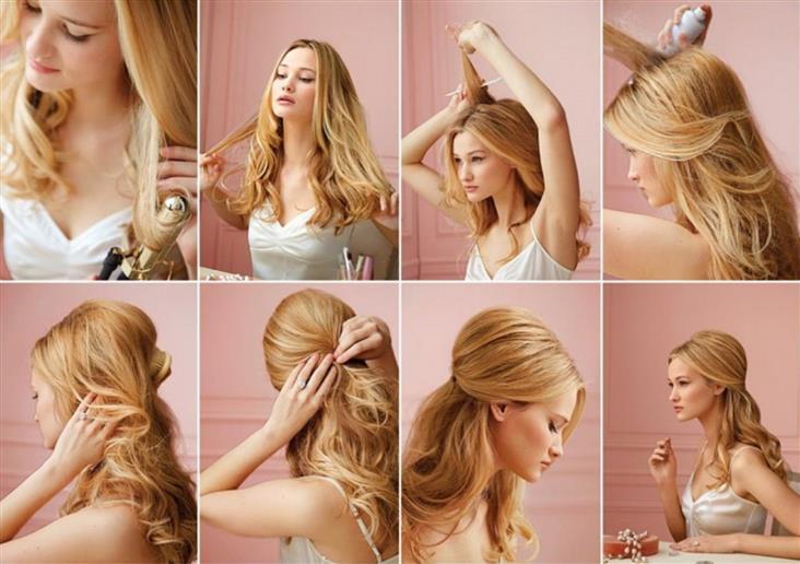Быстрая прическа на длинные волосы в домашних условиях на длинные волосы