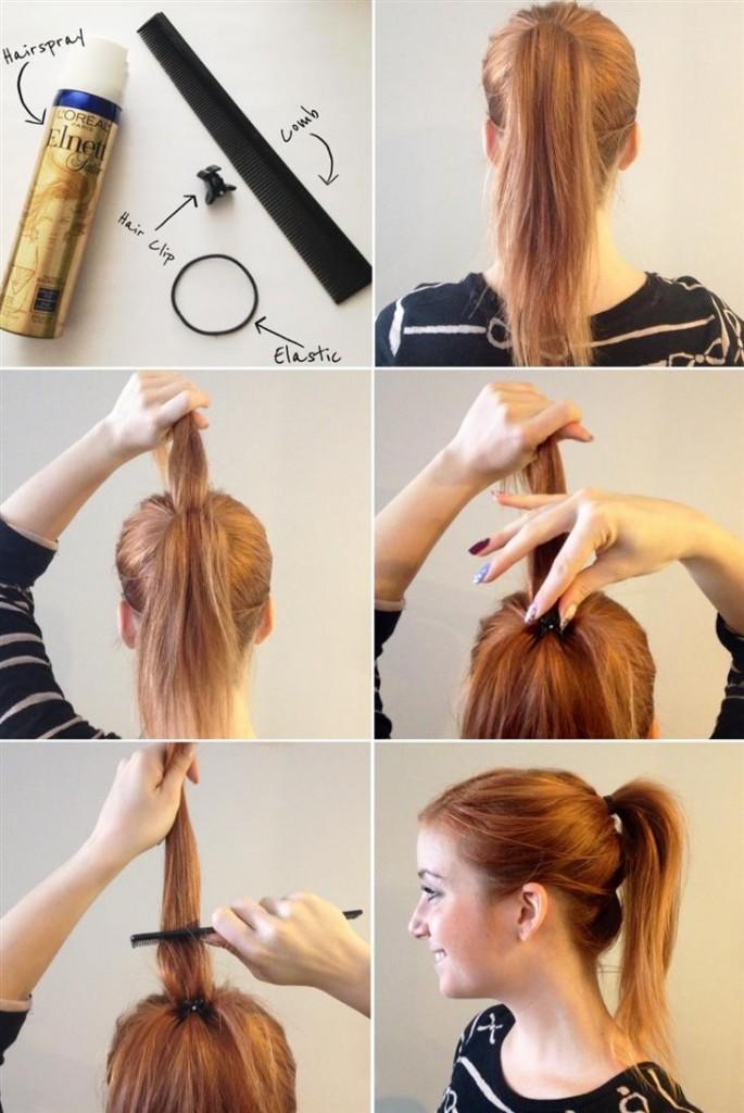 Сделать резинку для волос своими руками из лент