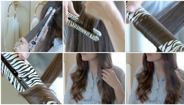 Как сделать спиральные локоны утюжком