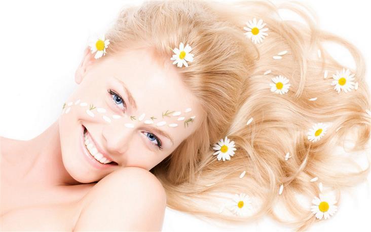 Народные средства, придающие блеск волосам