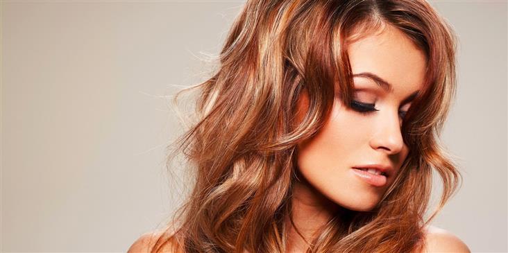 Колорирование на мелированные волосы фото - b9