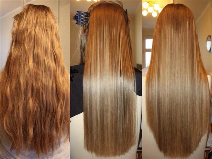 Как восстановить волосы с помощью кератинового выпрямления