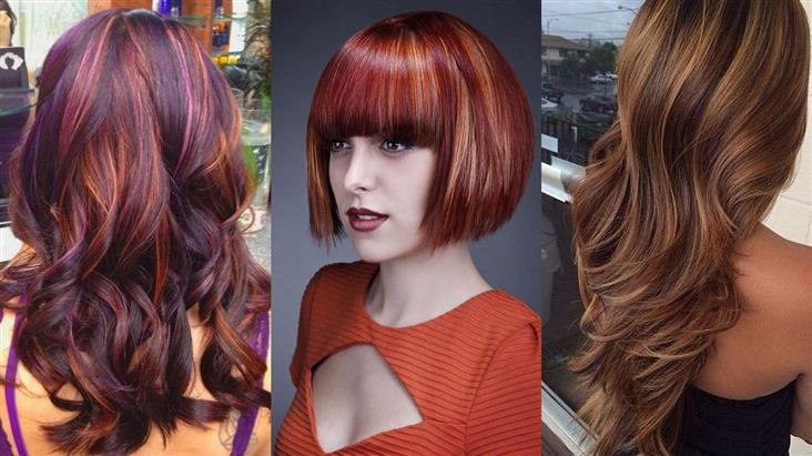 Цветовая гамма для колорирования на светлых волосах